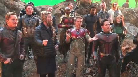 All Of The Avengers Endgame Behind The Scenes Pictures And Videos