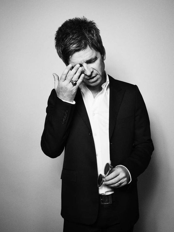 Noel Gallagher photographed in London, September 2015 for Esquire