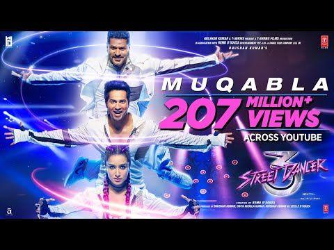 Muqabla Street Dancer 3d A R Rahman Prabhudeva Varun D Shraddha K Tanishk B Yash Parampara Youtube In 2020 Songs Movie Songs Street Dance