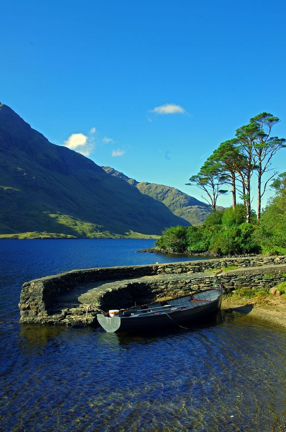 Enjoy an afternoon of angling and fishing in County Mayo #Ireland
