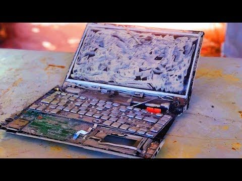 Restoration A Damaged Acer Laptop 5 Years Old Rebuild And Restore The Laptop Youtube In 2020 Laptop Acer Laptop Repair Laptop