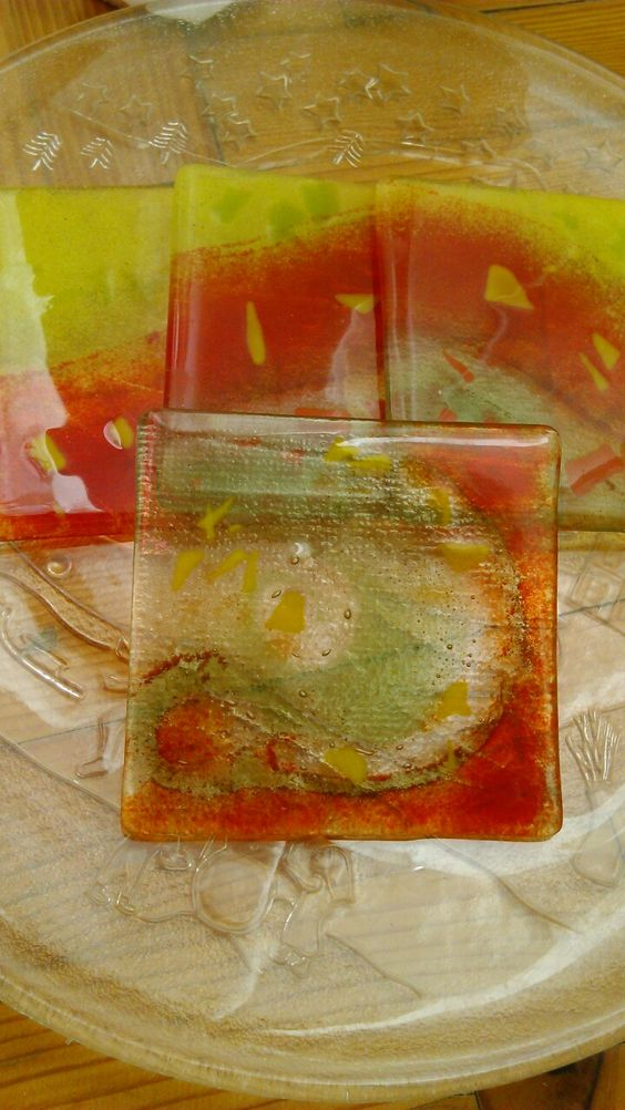 Mine place mat by fusion glass