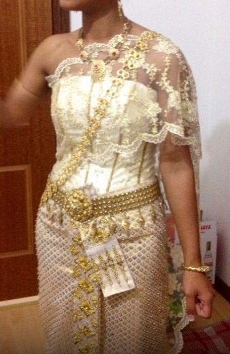 Cambodian Wedding Dress Cambodian Wedding And Wedding Dressses On Pinterest