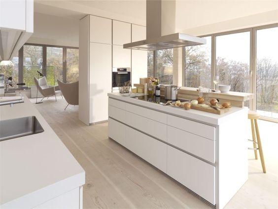 küche eiche modern - Google-Suche küche Pinterest Küche ohne - warme willkommende kuche aus eiche