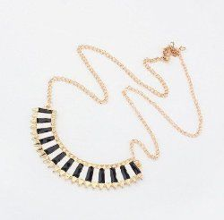 Vertical Stripes Necklace Pendant $2.39 each shipped FREE #Fashion