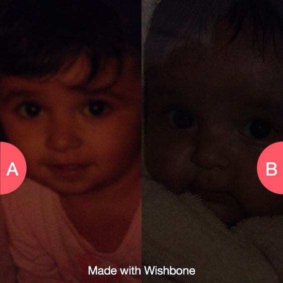 Which baby is cuter Click here to vote @ http://getwishboneapp.com/share/4622257