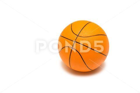 Toy Basketball Isolated On White Background Premium Photo 75871434 White Background Photo Background