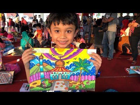 Juara 1 Lomba Mewarnai Ceria Ramadhan Youtube Pelajaran