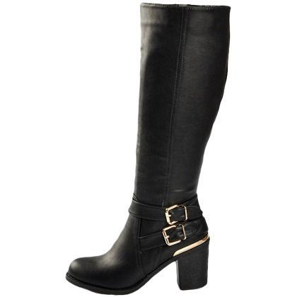 L'automne est là, alors achetons des bottes pour être au chaud ! 49,99€  Elles sont ici : http://stylefru.it/s192135 #bottestalon