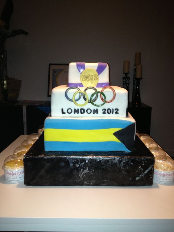Cake for an Olympic Gold Medalist