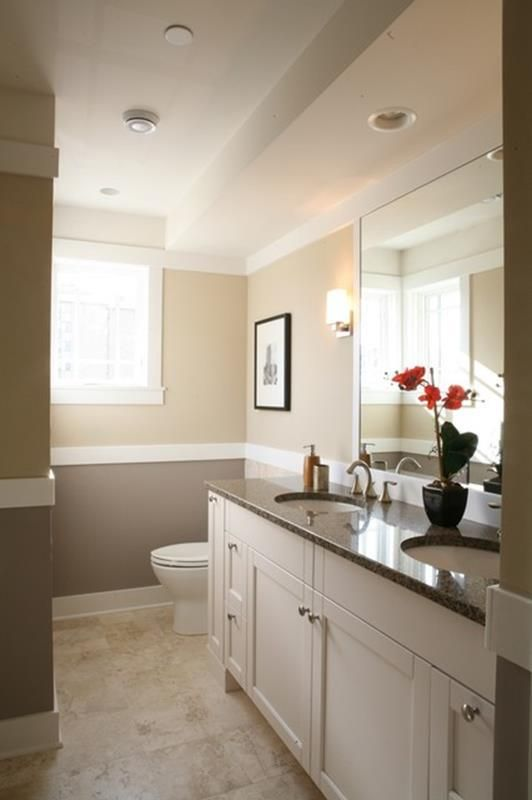 45 Perfect Warm Neutral Paint Colors For Bathroom Traditional