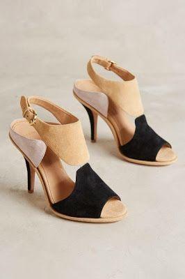 Tricolour Suede Sandals