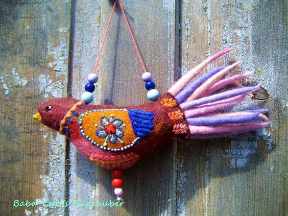 Baba Yaga: Filzvogel Juno