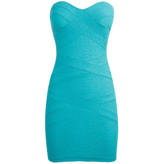TALLY WEiJL: Bodycon Dress ❤ liked on Polyvore