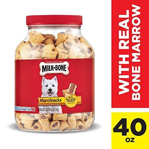 Milk Bone Marosnacks Dog Treats With Real Bone Marrow And Calcium