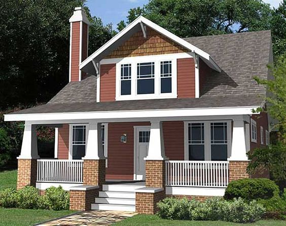 Architectural Designs House Plan 50102PH: Classic Craftsman Cottage With Flex Room: