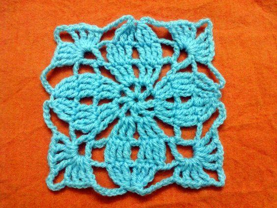Motivo N° 3 de la colección Moda a Crochet