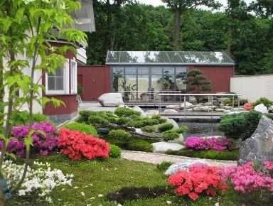 Wintergarten im japanischen Stil von Solarlux