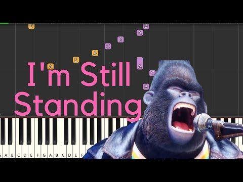 2 Elton John I M Still Standing Easy Piano Tutorial By Tunes