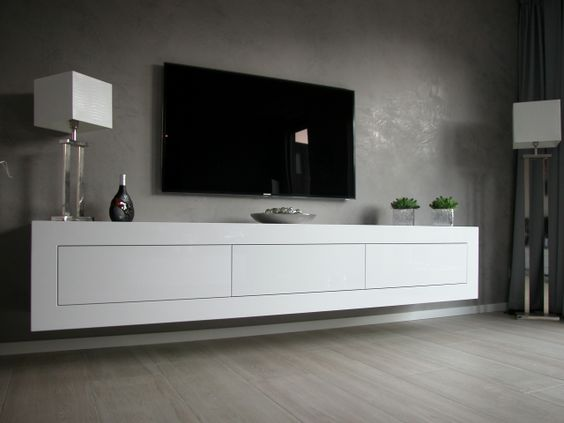 zwevend dressoir expression bron artyx nl 1 jpg   Interieur   Pinterest   TVs and Google