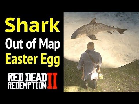 Shark Out Of Map In Red Dead Redemption 2 Rdr2 Easter Egg