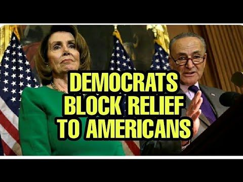 Pelosi And Schumer Deny Americans Financial Relief Youtube In 2020 Financial Deny Relief