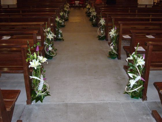 Eglise deco mariage d coration all e glise mariage pinterest mariage and deco - Decoration eglise mariage ...
