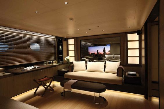 exklusive luxus yachten zefira glasdach beleuchtung   yacht, Innenarchitektur ideen