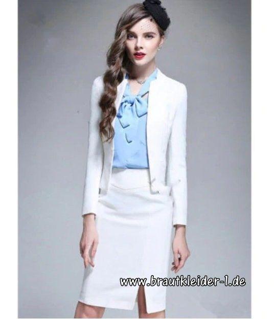 Damen Braut Kostum Zweiteiler Fur Den Standesamt In Weiss Damen Braut Kostum Zweiteiler Fur Den Standesamt In Weiss E Damen Mode Braut Kostum Damenmode