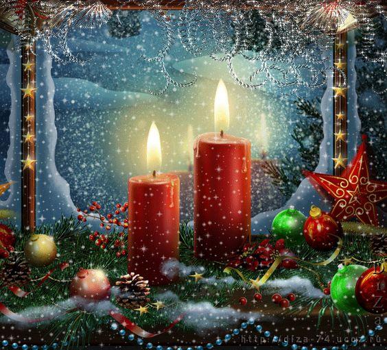 Karácsonyi gyertyák ...: