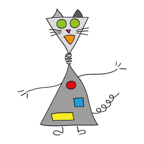 Robot cat by Cieleke, via Flickr