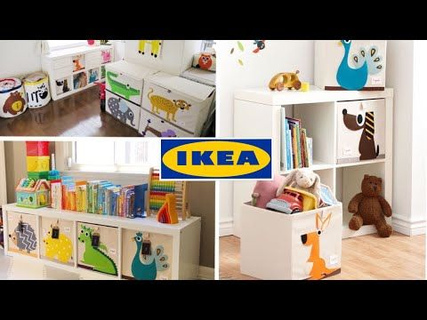 Ikea Toy Storage Hack Ikea Kallax 3 Sprouts Youtube Ikea Toy Storage Ikea Toys Ikea Childrens Storage