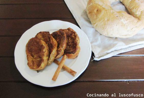 Torrijas de nata y miel, deliciosa opción para Semana Santa.