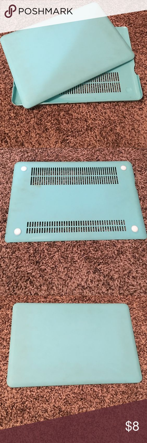 """MacBook Pro 13"""" case 13"""" MacBook Pro Case in Turquoise. Does NOT include keyboard over. Accessories Laptop Cases"""