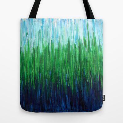 :: Sea Grass :: Tote Bag