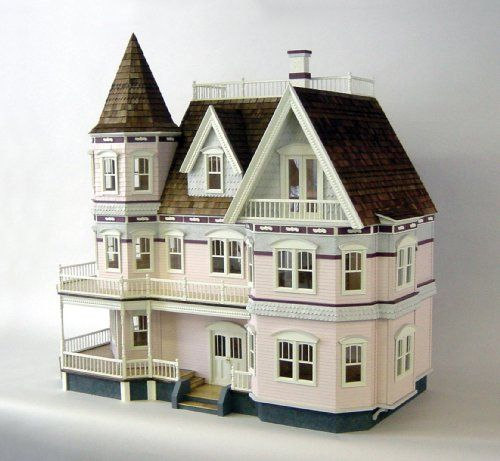 Dollhouses, Queen Anne And Victorian Dollhouse On Pinterest