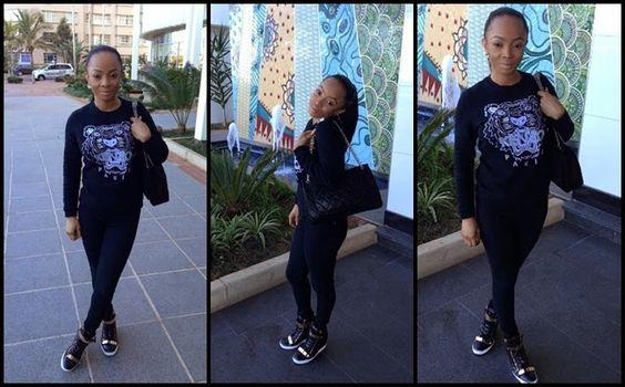 Toke Makinwa Having Fun In Durban http://goo.gl/h36p1U