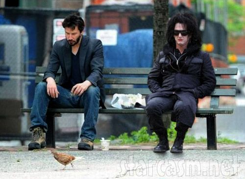 PHOTO Sad Keanu Reeves and sad Sean Penn in drag | Funny ...