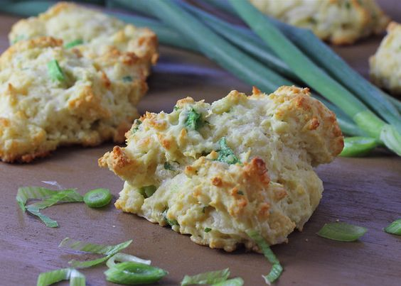 Pepper jack, scallion and cilantro drop biscuits: Pepperjack Scallion, Cilantro Biscuits, Pepperjack Biscuits, Cilantro Pepperjack, Recipes Quickbreads, Recipes Breads, Scallion Biscuits, Food Bread, Breads Biscuits