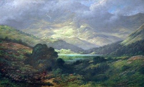 Collines d'Ecosse, 1875