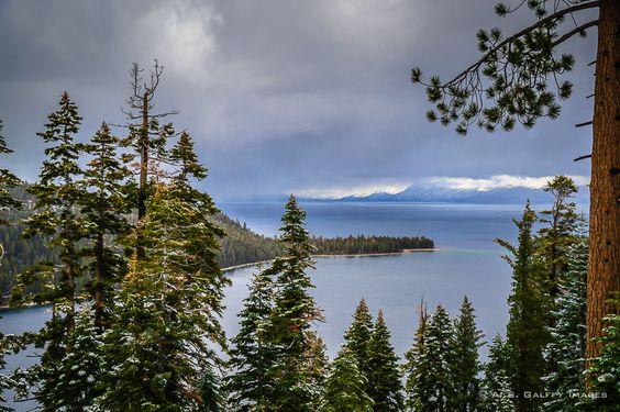 The Weekly Postcard: Lake Tahoe in Winter