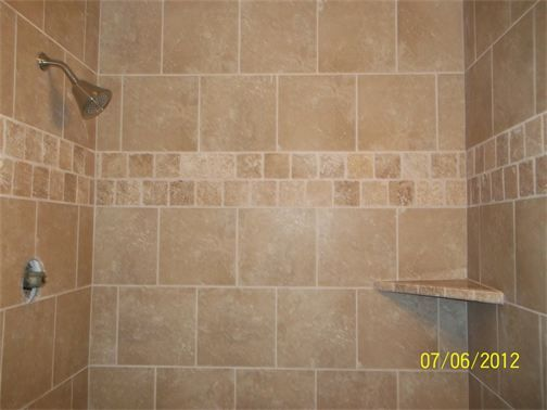 Shower tile pattern 12x12 google search master for Bathroom designs 12x12