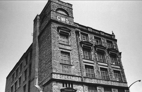 Co-op shirt making factory 1950's