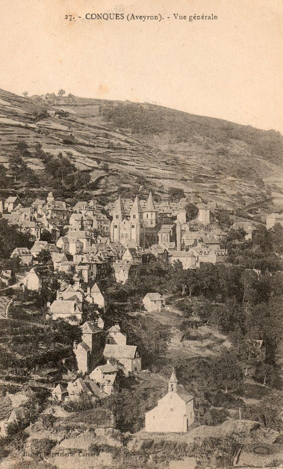 CONQUES - Aveyron -  (1921)