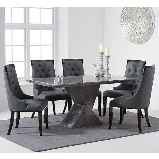 15+ Grey high gloss dining table set Inspiration
