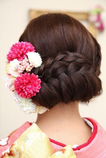 じわじわ人気の和装結婚式♡和装に似合う人気ウエディングヘアスタイルの6枚目の写真   マシマロ