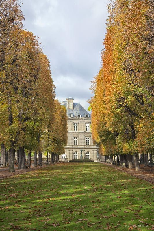 Luxembourg Garden, Paris/photo by Linda Ching