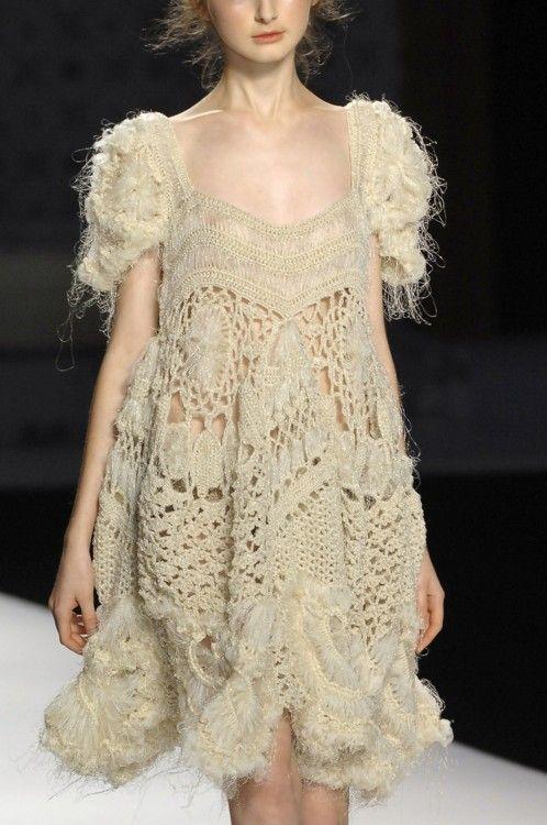 Crochet Dress | Kenzo                                                                                                                                                      Más