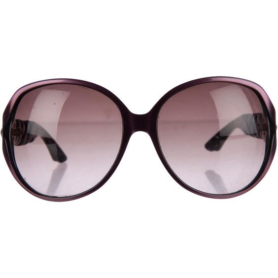Pre-owned Christian Dior Sunglasses (£88) ❤ liked on Polyvore featuring accessories, eyewear, sunglasses, purple, christian dior sunglasses, christian dior glasses, christian dior, christian dior eyewear and purple glasses