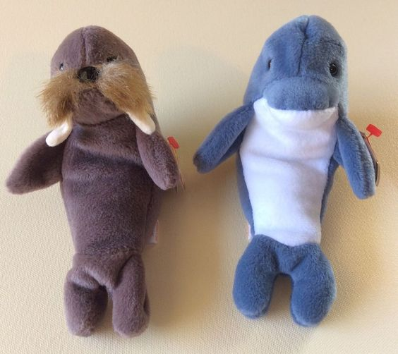 TY BEANIE BABIES JOLLY ECHO Stuffed Animals Collectible Kids Toys Home Girls #Ty